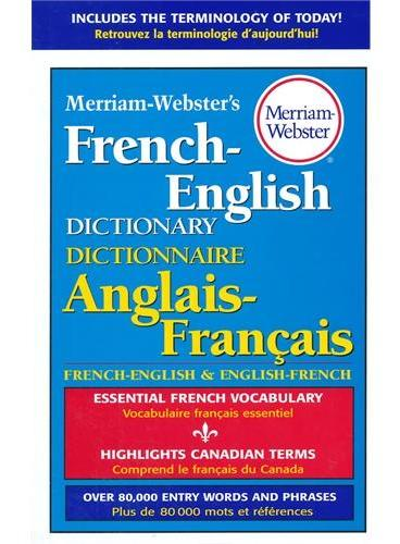 M-W's French-English Dictionary Merriam Webster's 韦氏词典之法英词典