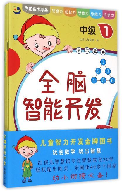 全脑智能开发 4-5岁 中级(1-4)(4册)