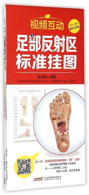 中国首创二维码挂图:视频互动足部反射区标准挂图