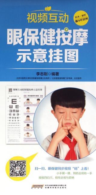 中国首创二维码挂图:视频互动眼保健按摩示意挂图