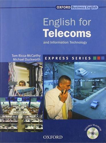 Express: English for Telecoms Student's Book and MultiROM