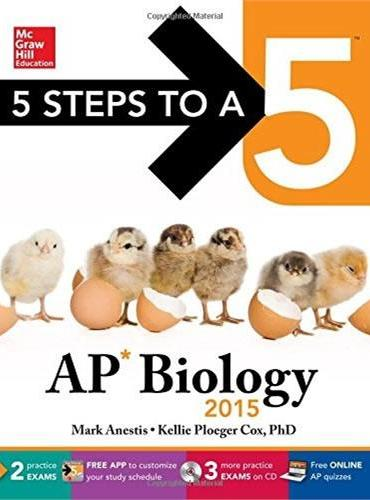 5 STEPS TO A 5 AP BIOLOGY W/CD-ROM 2015