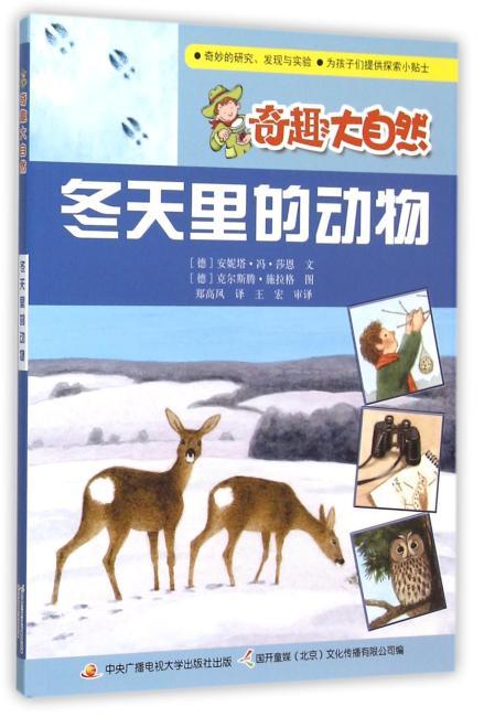 冬天里的动物