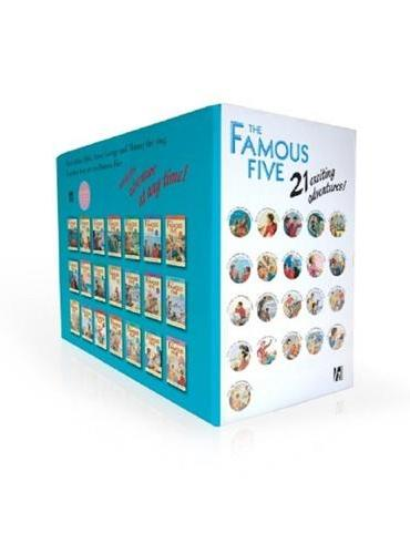 Famous Five Collection 英国国宝级童书经典系品《五伙伴历险记》21本套装ISBN9781444907957