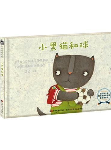 小黑猫和球