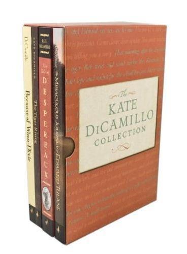The Kate DiCamillo Collection 凯特·迪卡米洛套装(爱德华的奇妙之旅、傻狗温迪克、浪漫鼠德佩罗、高飞) ISBN9780763649531