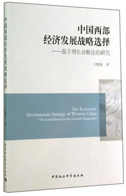 中国西部经济发展战略选择
