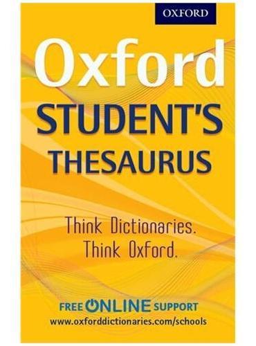 OXFORD STUDENTS THESAURUS PB 2012《牛津学生词典》新版 免费在线资源支持 原版进口