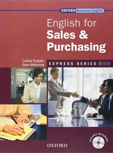 Express: English for Sales & Purchasing Student's Book and MultiROM