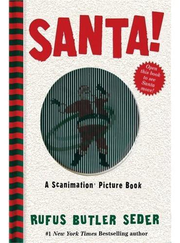 A Scanimation Book:Santa!神奇动画书:圣诞老人!ISBN9780761177258