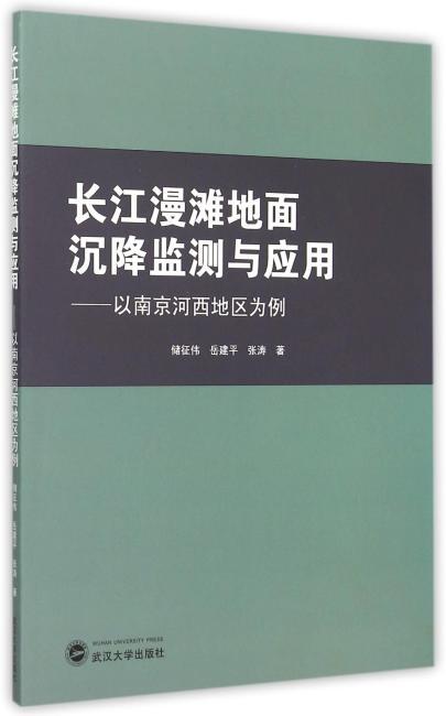 长江漫滩地面沉降监测与应用:以南京河西地区为例