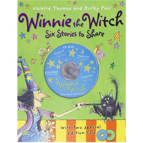 Winnie the Witch Six Stories to Share (with 2CDs)女巫温妮6个分享故事(2张CD)ISBN9780192793478