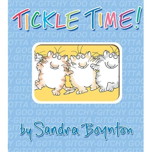 Tickle Time!Tickle Time![Board Book,by Sandra Boynton]故事时间[卡半书]ISBN9780761168836