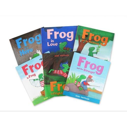 Frog is Frog?青蛙弗洛格的成长故事第一辑(6册)