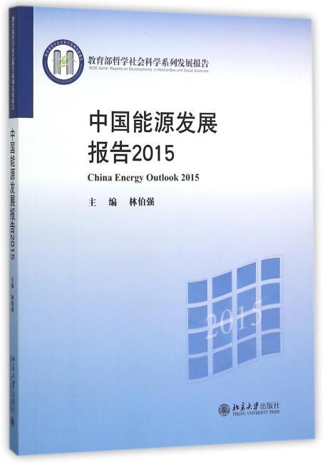 中国能源发展报告2015