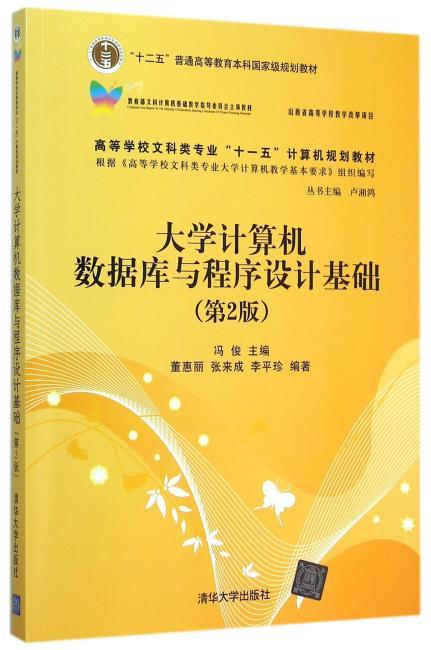 大学计算机数据库与程序设计基础(第2版)