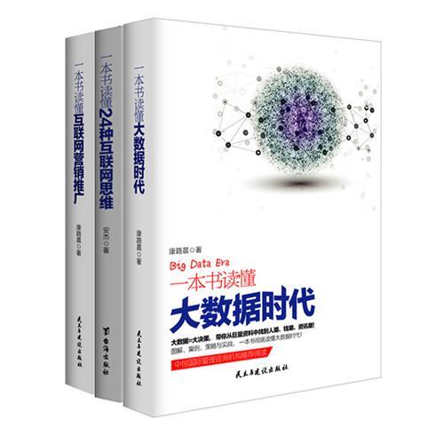 畅销套装-商业模式新生代系列(共3册)大数据时代+互联网思维+互联网营销推广
