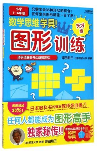 培养聪明孩子的训练丛书:数学思维学具!(图形训练 天才篇)