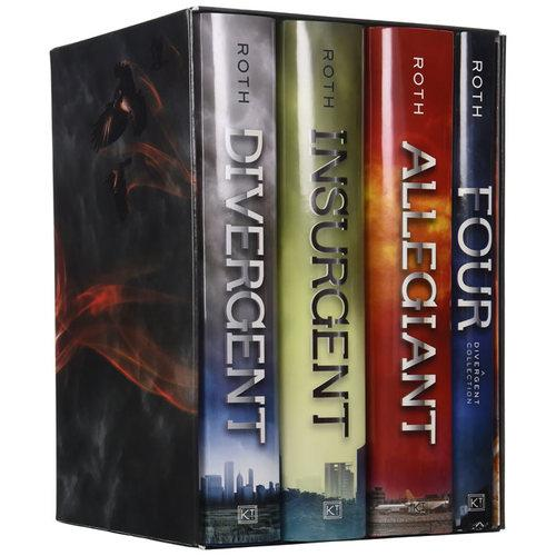 Divergent Series Complete Four-Book Boxset [Hardcover]《分歧者》四册精装ISBN9780062352163