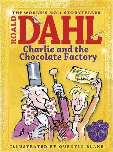 Charlie and the Chocolate Factory 查理和巧克力工厂(50周年纪念版,彩色插图)ISBN9780141334370
