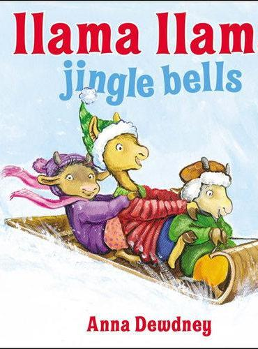 Llama Llama Jingle Bells[Board Book]羊驼拉玛圣诞铃声[卡板书]ISBN9780451469809