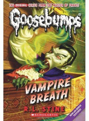 Classic Goosebumps #21: Vampire Breath 鸡皮疙瘩经典版21:吸血鬼的呼吸 ISBN9780545298377