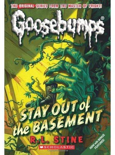 Classic Goosebumps #22: Stay Out of the Basement 鸡皮疙瘩经典版22:远离地下室 ISBN9780545298384