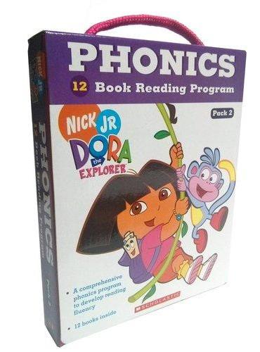 Dora The Explorer Phonics Fun Pack #2 with CD 朵拉探险记自然拼读法套装2(附CD) ISBN9780545722216