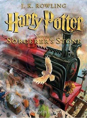 Harry Potter And The Sorcerer's Stone 《哈利·波特与魔法石》(全彩插图版)  ISBN9780545790352