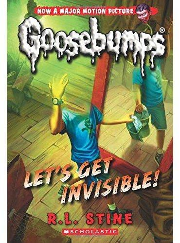 Classic Goosebumps #24: Let's Get Invisible! 鸡皮疙瘩经典版24:一起隐身吧! ISBN9780545828796