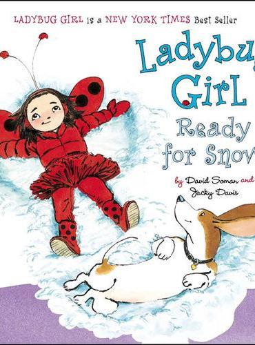 Ladybug Girl Ready for Snow[Board Book]瓢虫女孩等着下雪[卡板书]ISBN9780803741379