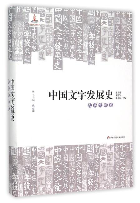 中国文字发展史·民族文字卷