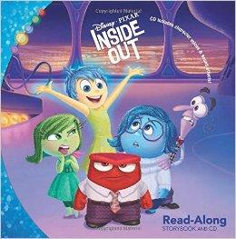 Inside Out (Read-Along Storybook and CD) 头脑特工队ISBN9781484712795