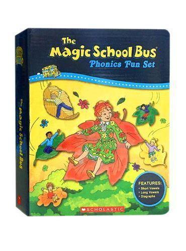 Magic School Bus Phonics Fun Set 神奇校车自然拼读法套装 ISBN9555717701098