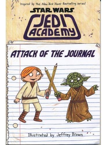 Star Wars: Jedi Academy Attack of the Journal 星球大战之绝地学院:作战日记 ISBN9780545906159