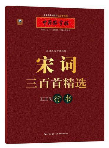 中国好字帖 边读边写古典精粹 宋词三百首精选(行书)