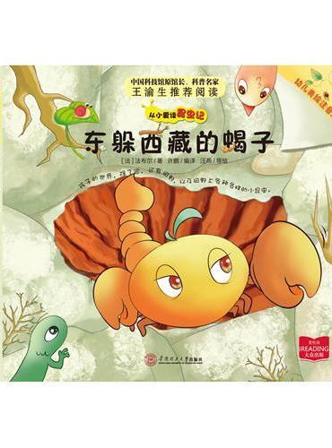 东躲西藏的蝎子  从小爱读昆虫记   一套幼儿也可以读懂的昆虫记  中国科技馆原馆长科普名家王渝生强力推荐
