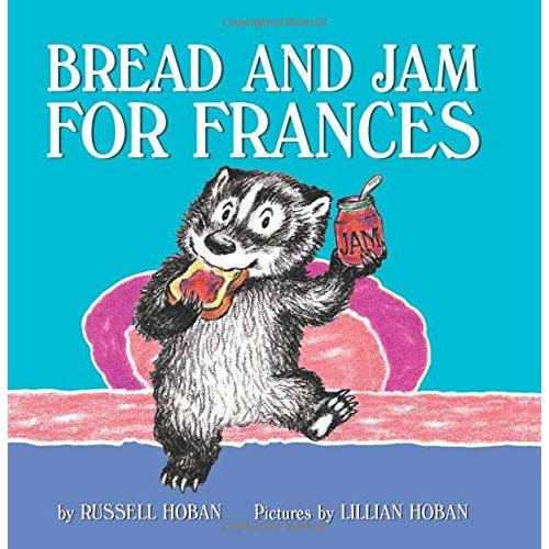 Bread and Jam for Frances弗朗斯的面包和果酱ISBN9780062392374