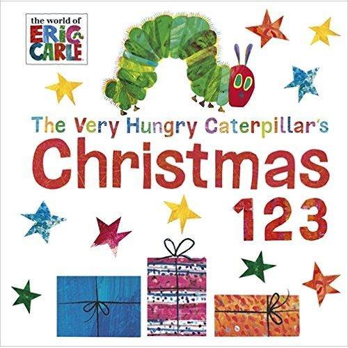 The Very Hungry Caterpillar's Christmas 123 好饿的毛毛虫:圣诞节的一二三