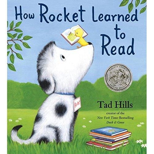 How Rocket Learned to Read(Parents' Choice Honor Book)洛克的阅读课(美国家长选择奖银奖)