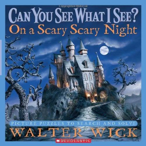 Can You See What I See?: On a Scary Scary Night 眼力大考验系列: 恐怖夜晚 ISBN9780439708708