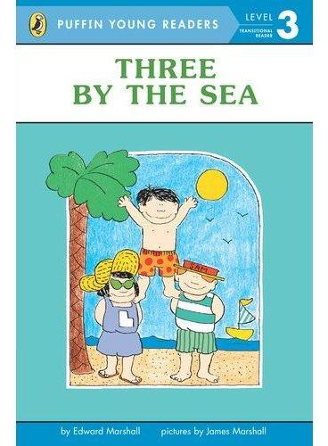 Three by the Sea(Puffin Young Readers, Level3)海边三个人ISBN9780448466583