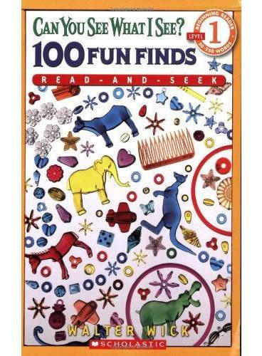 Scholastic Reader Level 1: Can You See What I See? 100 Fun Finds: Read-and-Seek 学乐分级读物1·I SPY视觉大考验系列:100个有趣的大搜索 ISBN9780545078887