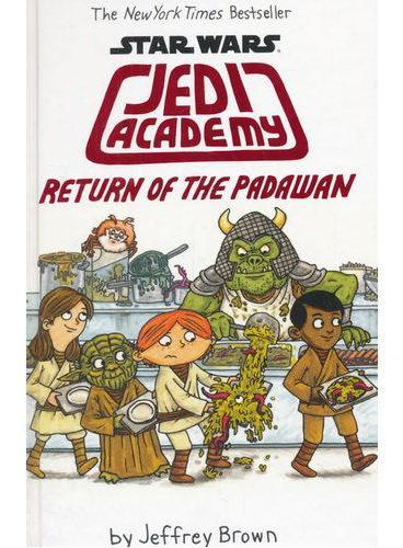 Star Wars Jedi Academy # 2 星球大战之绝地学院2(精装) ISBN9780545621250