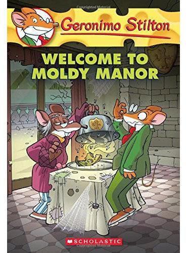 Geronimo Stilton #59: Welcome to Moldy Manor 老鼠记者59:欢迎来到发霉庄园 ISBN9780545746137