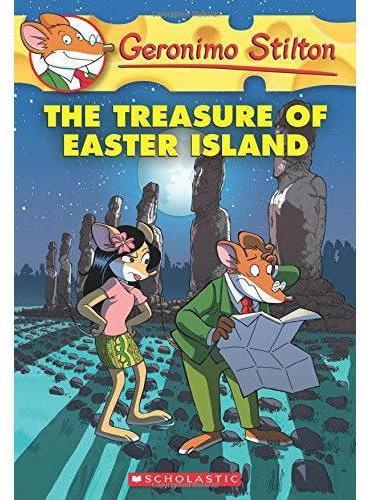 Geronimo Stilton #60: The Treasure of Easter Island 老鼠记者60:复活节岛的宝藏 ISBN9780545746144