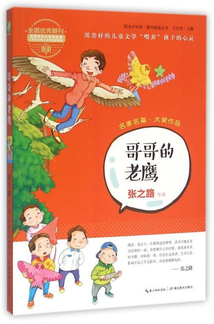 """阳光少年派:哥哥的老鹰(名家名篇新作精选 用美好的儿童文学""""喂养""""孩子的心灵)"""