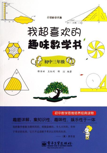 引领数学风暴:我超喜欢的趣味数学书(初中3年级)
