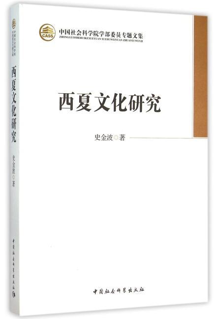 西夏文化研究