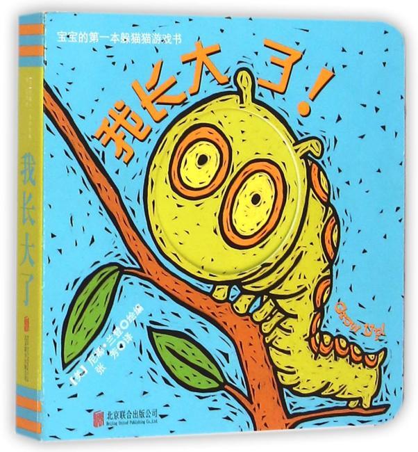 宝宝的第一本躲猫猫游戏书:我长大了